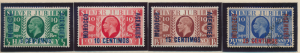 Great Britain, Offices In Morocco Stamps Scott #67-70, 67-9 Mint Hinged, 70 U...