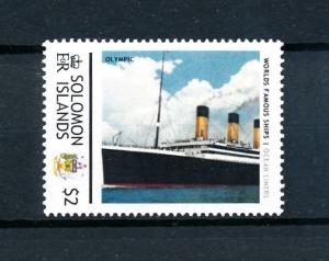 [90562] Solomon Islands  Ships Olympic Ocean Liners White Star Line  MNH