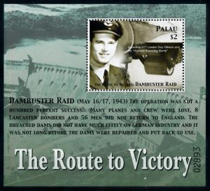 [76560] Palau 2005 World War II Dambuster Raid Souvenir Sheet MNH