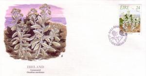 Ireland FDC SC# 720 Cottonweed  L201