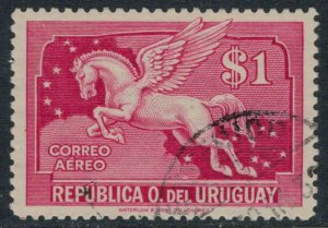 Uruguay #C52  CV $7.50