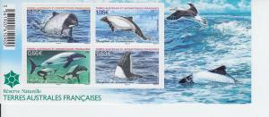 2014 FSAT TAAF Commerson's Dolphins SS (Scott 509)