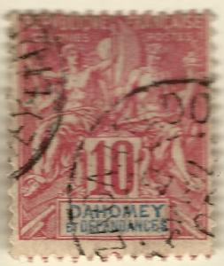 Dahomey #6 Used F-VF hr...Fill out French Colony spaces!