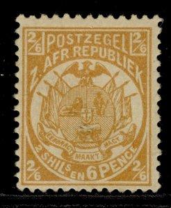 SOUTH AFRICA - Transvaal QV SG184, 2s 6d orange-buff, M MINT. Cat £17.