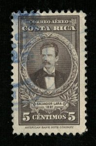 1943 Airmail - Portraits and Dates, Costa Rica 5c (TS-384)