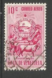 VENEZUELA C529 VFU ARMS Z1950-3