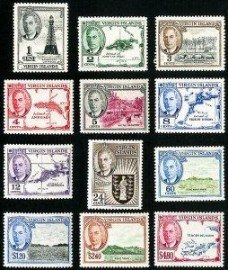 Virgin Islands Stamps # 102-13 MVLH VF