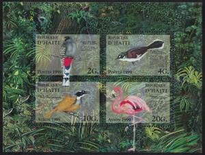 Haiti Birds Flamingo Trogon Warbler MS SG#MS1644 SC#912a