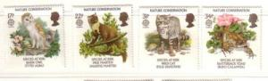 Great Britain Sc 1141-44 1986 Europa stamp set mint NH