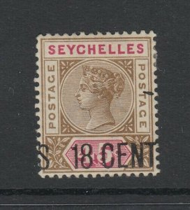 Seychelles, Scott 27 (SG 26), MHR
