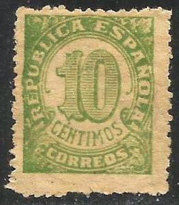 Spain 1938 Scott# 593 Used