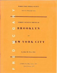 1979 John Price's Street Car RPO Service in Brooklyn and New York City