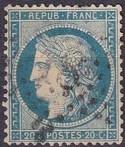 France #57   F-VF Used CV $6.75  (Z4685)