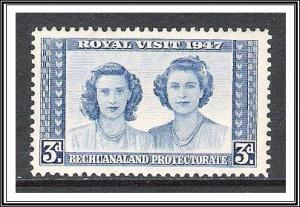 Bechuanaland #145 Royal Visit MH