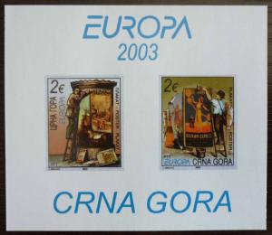 MONTENEGRO - BLOCK 2003 - MNH - PRIVATE ISSUE! crna gora yugoslavia J9