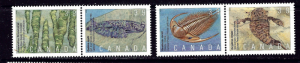 Canada 1279-82 MNH 1990 set in pairs