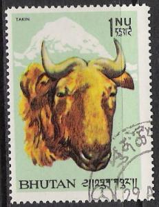 Bhutan #62 Goat CTO NH