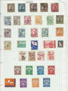yugoslavia stamps ref 12076
