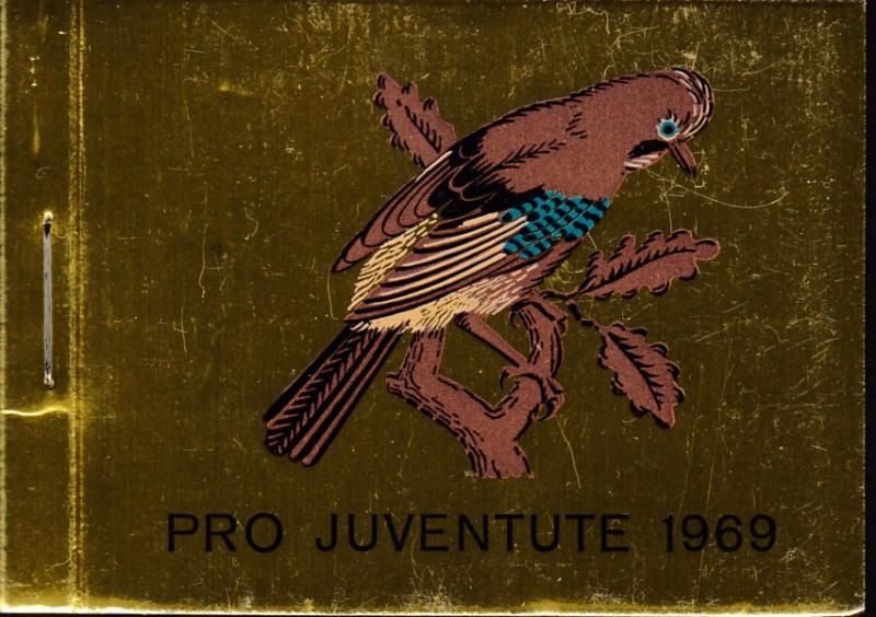 Switzerland 1969 Pro-Juventute Booklet Complete  VF/NH