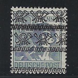 Germany AM Post Scott # 604, mint hr, variation dubble o/p