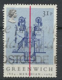Great Britain SG 1257 - Used - Greenwich Meridian