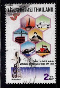 THAILAND Scott 1322 Used communications stamp