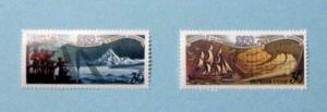 Russia - 6019-20, MNH Set. Alaska Voyage. SCV - $.80