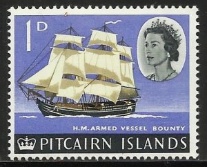 Pitcairn Islands 1964 Scott# 40 MH