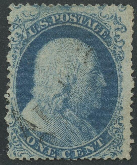 #21 F-VF USED WITH LIGHT CANCEL CV $1,800 HV9723