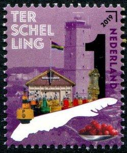 HERRICKSTAMP NEW ISSUES NETHERLANDS Sc.# 1583 Beautiful Neth. 2019 Terschelling