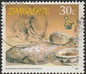 Zimbabwe, #625 Used From 1990
