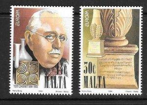 MALTA SG958/9 1994 EUROPA MNH