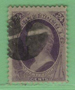 $US Sc#153 used, F-VF, no faults, Cv. $210