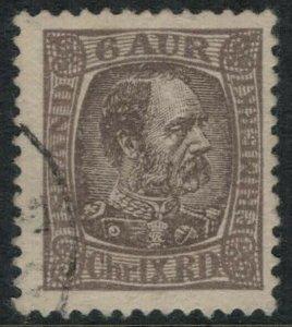 Iceland #37 CV $13.00 postage stamp