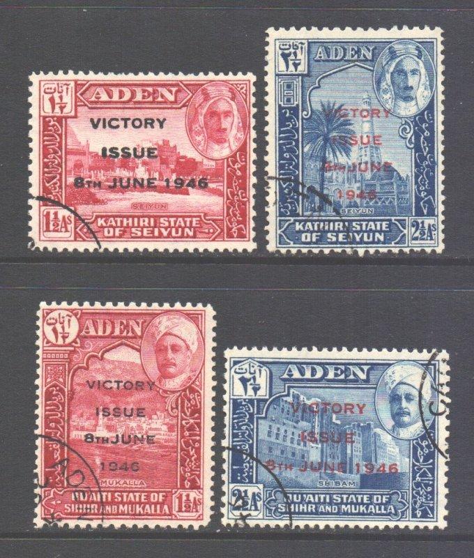 Aden Seiyun & Mukalla Scott 12/13 - SG12/13, 1946 Victory Sets used