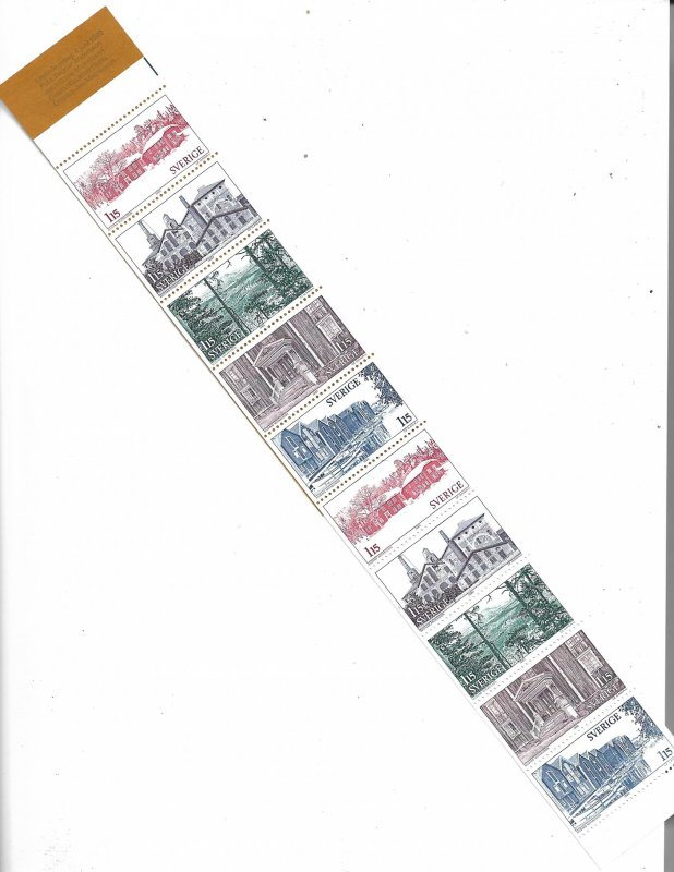 COLLECTION LOT OF # 809 SWEDEN # 1330a 1980 COMPLETE BOOKLET