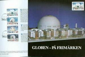 Sweden. FD Book/Folder. 1989. The Globe On Stamps Engraver Z. Jakus.