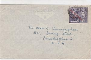 Malta Stamps Cover to U.S.A. ref R 17986