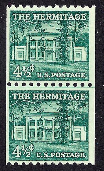 1059 Mint,OG,NH... Line Pair... SCV $14.00