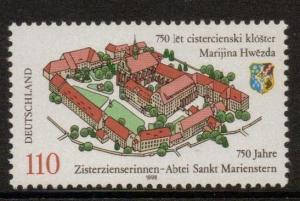 GERMANY SG2844 1998 ANNIV OF ST.MARIENSTERN ABBEY  MNH