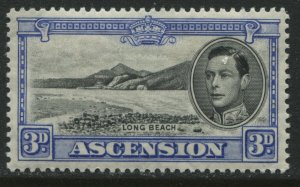 Ascension KGVI various values to 6d all perf 13 1/2 unmounted mint NH