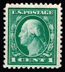 US STAMP # 498 1 1917 Flat Plate Unused Ng Stamp