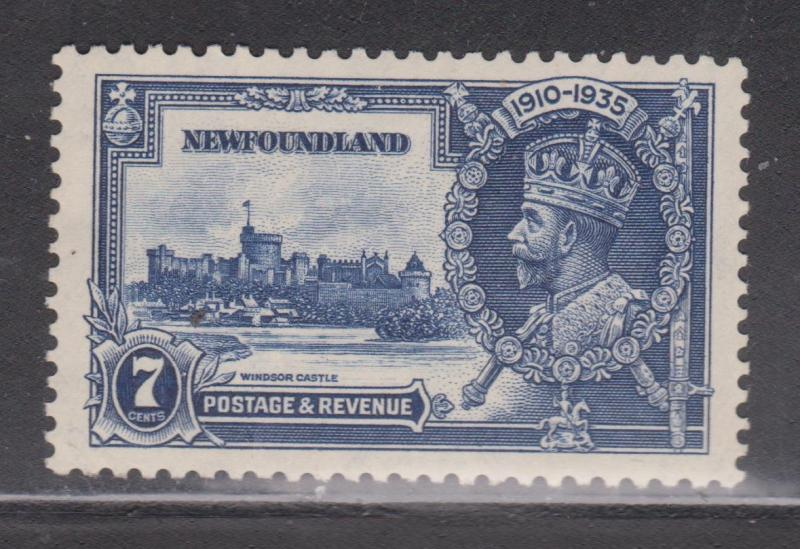 NEWFOUNDLAND Scott # 228 - Mint Hinged KGV Silver Jubilee Issue