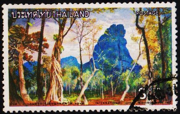 Thailand. 1972 3b S.G.736 Fine Used