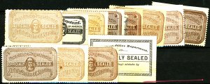 U.S. #OFFICIALLY SEALED MINT/USED MIXED CONDITION
