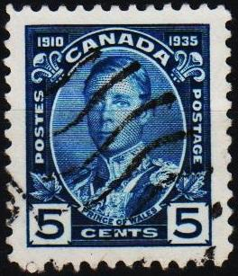 Canada. 1935 5c S.G.338 Fine Used