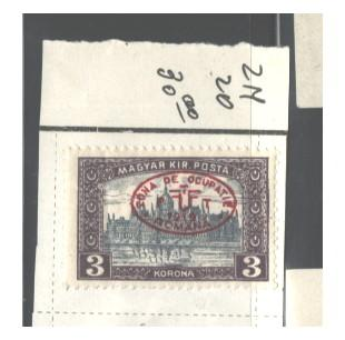 HUNGARY OCCUPATION 1919 1st DEBRECEN ISSUE #2N20 MH