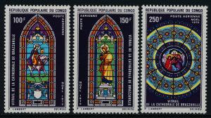 Congo PR C104-6 MNH Christmas, Stained Glass Windows
