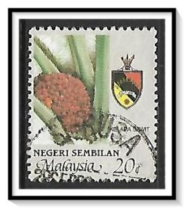 Negri Sembilan #104 Agriculture & State Crest Used