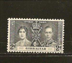 Gibraltar 105 King George VI Coronation Mint Hinged